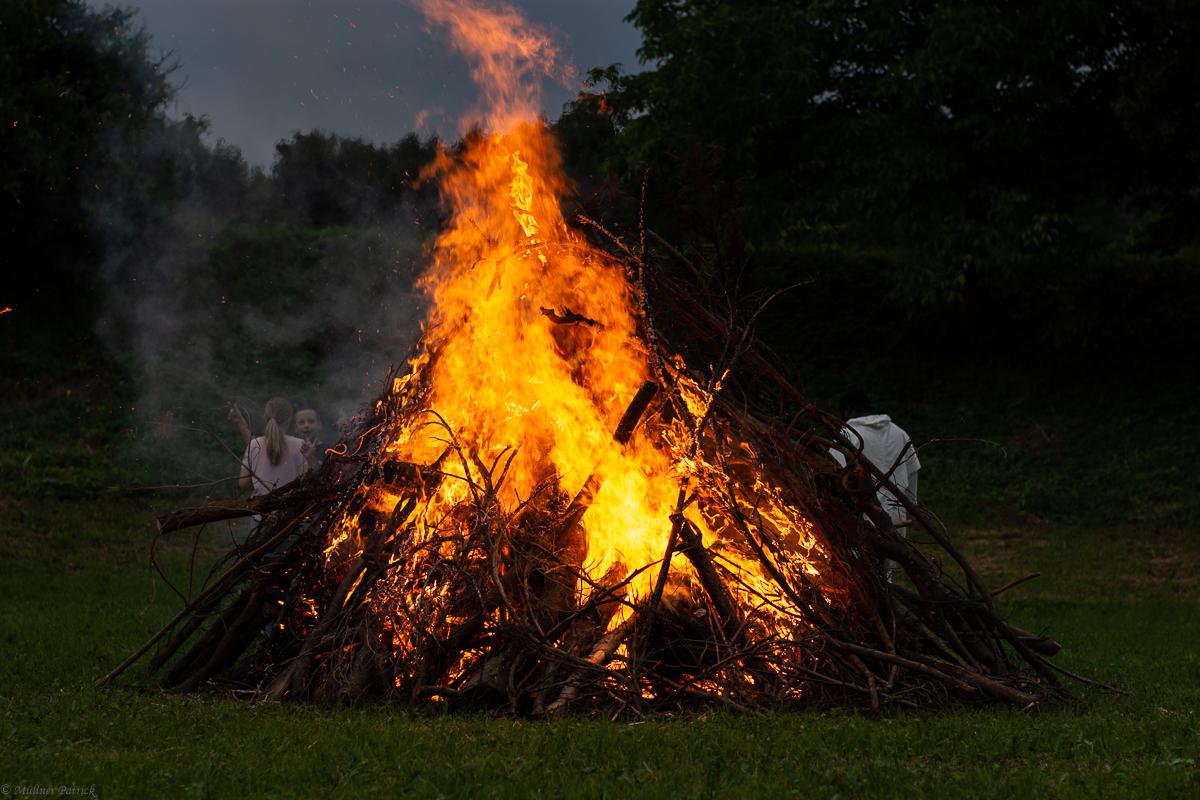 Sonnwendfeuer in Ofenbach